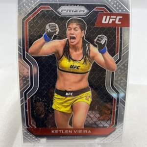 Lot # 124 2021 Panini Prizm UFC KETLEN VIEIRA