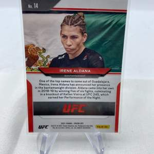 Lot # 126 2021 Panini Prizm UFC IRENE ALDANA