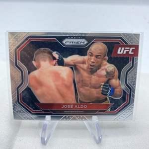 Lot # 131 2021 Panini Prizm UFC JOSE ALDO