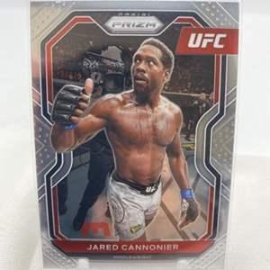Lot # 133 2021 Panini Prizm UFC JARED CANNONIER