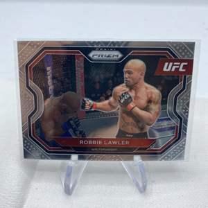 Lot # 135 2021 Panini Prizm UFC ROBBIE LAWLER