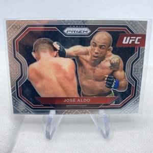 Lot # 137 2021 Panini Prizm UFC JOSE ALDO