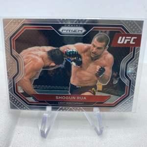 Lot # 138 2021 Panini Prizm UFC SHOGUN RUA