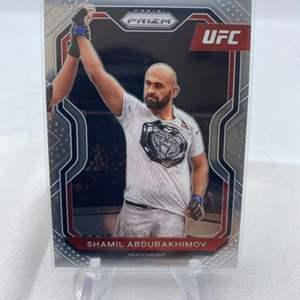 Lot # 139 2021 Panini Prizm UFC SHAMIL ABDURAKHIMOV
