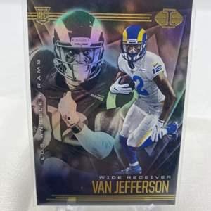 Lot # 149 2020 Panini Illusions Football VAN JEFFERSON Rams