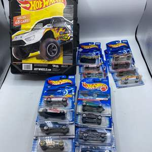 Lot # 5 Lot of Hot Wheels Case and Un-Opened Hot Wheels