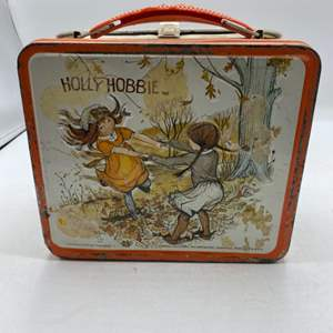 Lot # 9 Vintage Hollie Hobby Metal Lunch Box