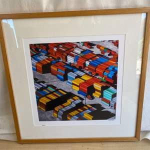 "Lot # 24 Art Print, Signed ""Rewitzer"""