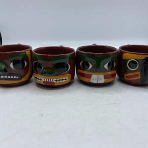 Lot # 35 Lot of Blaisdell Totem Mugs