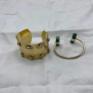 Lot # 53 Lot of 2 Bracelets, including Tom Ford Cuff Bracelet
