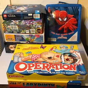 Lot # 56 Kids Toys and Games lot With Batman Chess Set