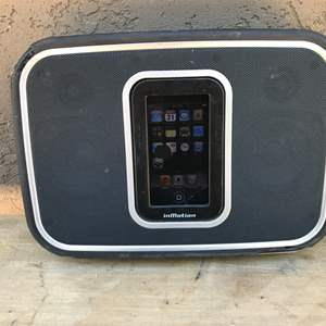 Lot # 68 Altec InMotion Portable Speaker w/ iPod & Dock-Untested