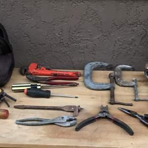 Lot # 75 Dewalt Bag Tool Lot