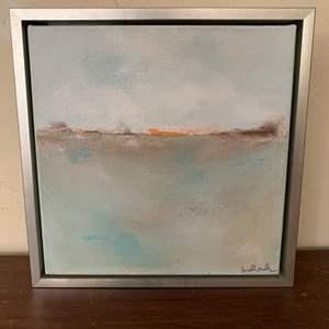 "Lot # 94 ""Sea Dreams 2"" Painting, Signed Linda Donohue"