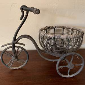 Lot # 96 Iron Tricycle Planter