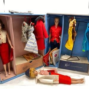 Lot # 36 Barbie and Ken Doll Set