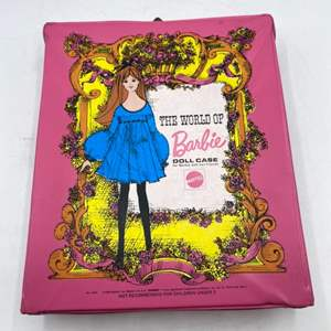 Lot # 50 The World of Barbie Doll Case - Includes Doll and Clothes