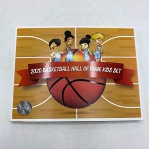 Lot # 53 US Mint 2020 Basketball Hall of Fame Commemorative Coin Kids Set