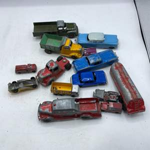 Lot # 63 Lot of Collectable Toy Cars
