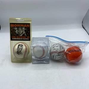 Lot # 67 Lot of Commemorative Baseballs