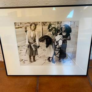 Lot # 14 Photograph of Young Ladies, Signed