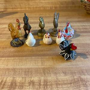 Lot # 34 Lot of Chicken Collectibles