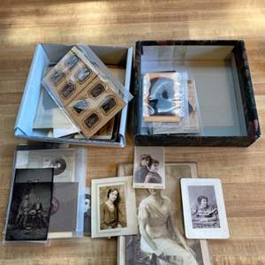 Lot # 38 Box of Old Photos