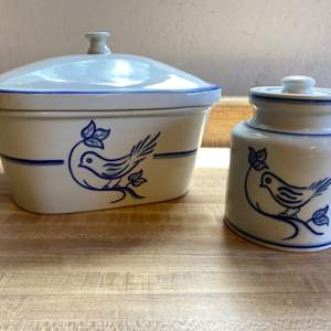 Lot # 46 Schmid Design Portugal Canisters