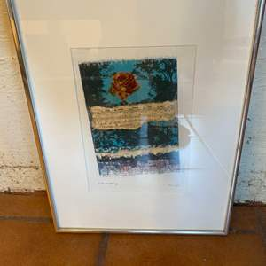 "Lot # 48 ""Late in Spring"", Framed Print"