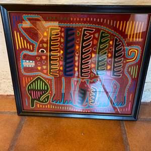 Lot # 49 Mola Tapestry
