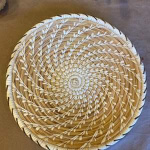 Lot # 78 Handmade Basket by Tohono O'Odham Indians of Arizona