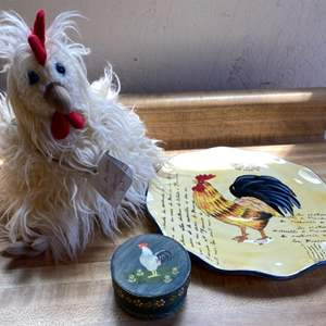 Lot # 81 Lot of Chicken Collectibles
