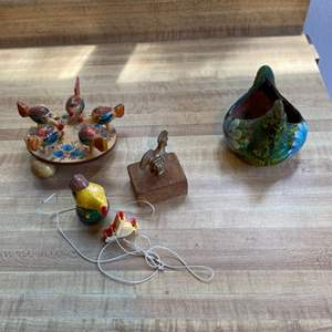 Lot # 92 Lot of Chicken Collectibles
