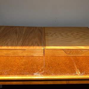 Lot # 99 Lot of 2 Well Made Archival Boxes