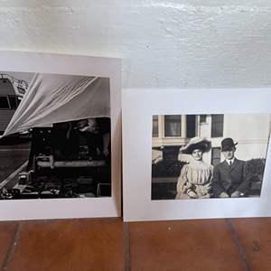 Lot # 131 Lot of 2 Black / White Photographs