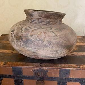 Lot # 133 Large Pottery Vase