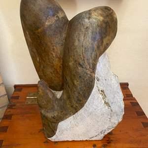 Lot # 138 Stone Sculpture