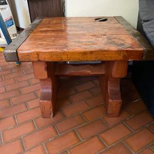 Lot # 145 One Sturdy Side Table