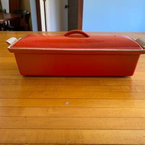 Lot # 159 Le Creuset Covered Baking Dish