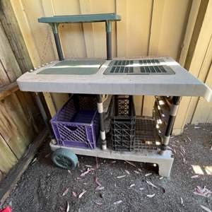 Lot # 163 Garden Bench (Crates Included)
