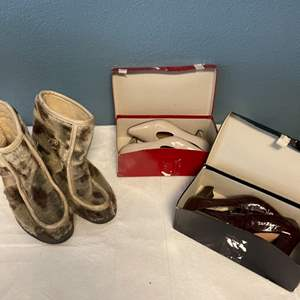 Lot # 3 Lot of Shoes - Two in Women's 7.5, One a Woman's 12