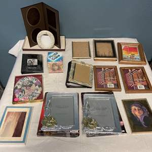 Lot # 9 Lot of Picture Frames
