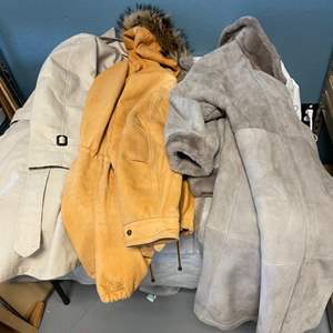 Lot # 40 Three Coats With Faux Fur