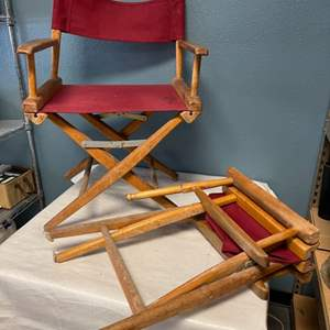 Lot # 44 Two Movie Chairs