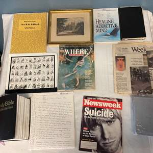 Lot # 70 Lot of Magazines and Newspapers