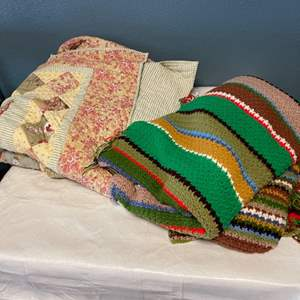 Lot # 81 Two Quilts
