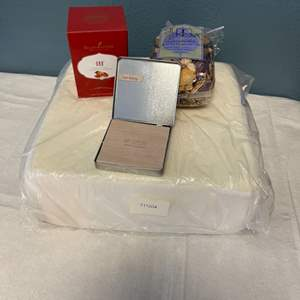 """Lot # 82 Self Care Items - Diffuser, Pillow, """"I am Feeling"""" Magnets, Lavender-Scented Dried Plants"""