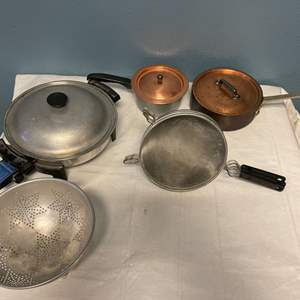 Lot # 88 Lot of Pots and Sieves