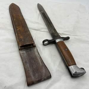 Lot # 101 Savage Quality Dagger with Sheath