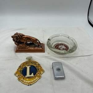 Lot # 103 Lions International Themed Items